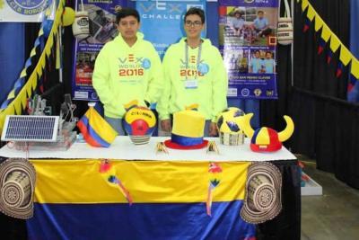 Estudiantes de Bucaramanga quedaron  cuartos en el Mundial de Robótica 2018