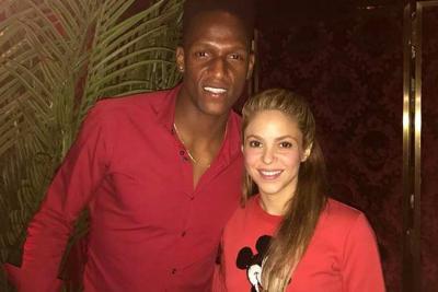 Así fue el esperado encuentro de Shakira y Yerry Mina en Barcelona