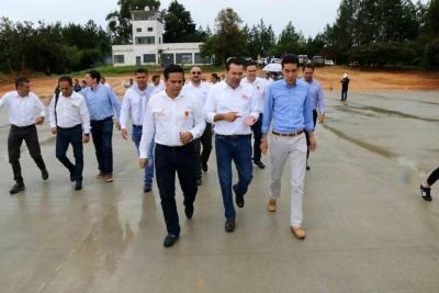 DNP, Gobernación y Alcaldía visitaron obras en Los Pozos