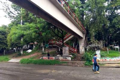 Solicitan renovación total del puente peatonal en Lagos II