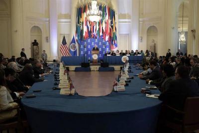 Estados Unidos pidió a la OEA suspender a Venezuela