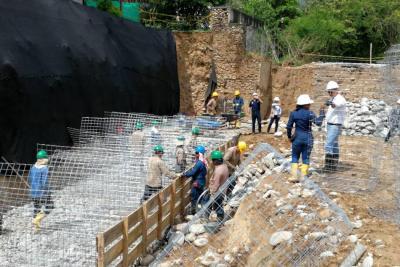 Gallineral, el primer sector que se interviene por obras de mitigación