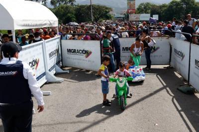 Según el censo, en el país hay 203.989 venezolanos irregulares
