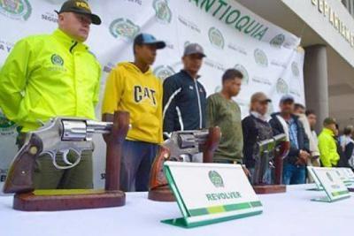 Capturan a tres cabecillas del Clan del Golfo en Antioquia
