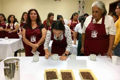 Mujeres participaron de Encuentro Cafetero