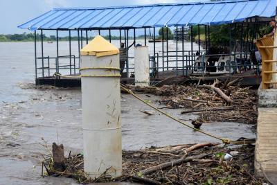Alerta en la cuenca media del río Magdalena por altos niveles