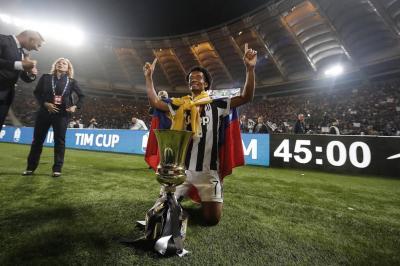 Cuadrado y Juventus ganaron la Copa Italia