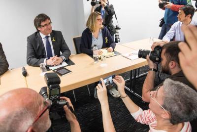 El Tribunal español impide a Puigdemont ser investido a distancia