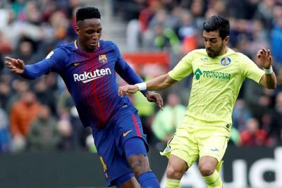 ¿Yerry Mina se irá del Barcelona la próxima temporada?
