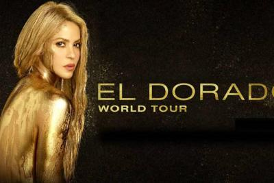 "Shakira estará en América Latina con su gira ""El Dorado"""