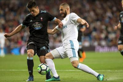 Real Madrid goleó 6-0 al Celta de Vigo