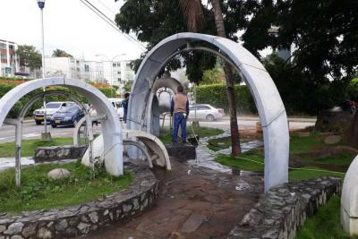 Con arreglos, parque Las Llaves en Cañaveral recobrará su esplendor
