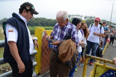 La entrada y salida de venezolanos al país creció un 40%