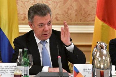 Santos no descarta firmar la paz con el Eln antes de terminar su mandato
