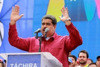 """Maduro le dijo """"imbécil"""" a Santos por no reconocer elecciones"""