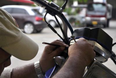 Se roban en promedio dos motos al día en Bucaramanga y el área metropolitana