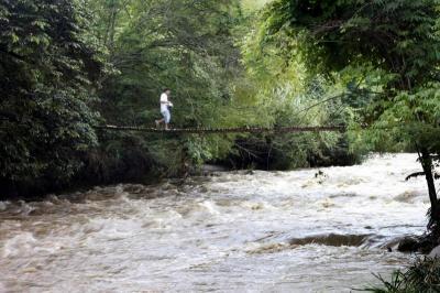 Crecientes de los ríos De Oro y Suratá reactivan las alarmas en Bucaramanga