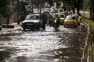 Ideam advierte que lluvias de variada intensidad se mantendrán hasta el viernes en Bucaramanga