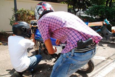 Hurto de motos no para en el área metropolitana