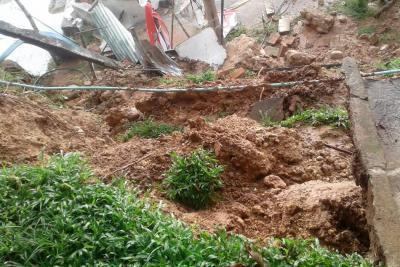 Las lluvias ocasionaron emergencia en Lebrija
