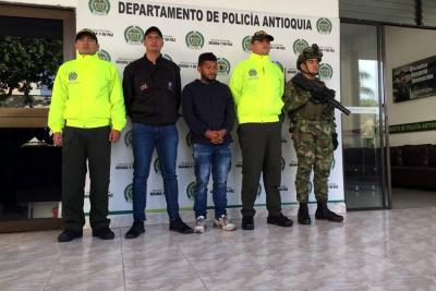 Capturado 'Salazar', presunto comandante del Frente Occidental del Clan del Golfo