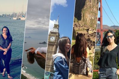Jóvenes por el mundo: estudio y diversión