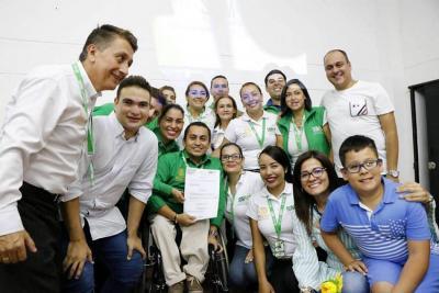 El Alcalde local firmó proyecto de inclusión