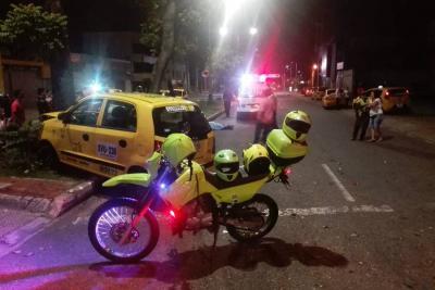 Presunta omisión de un semáforo en  rojo cobró la vida de un motociclista