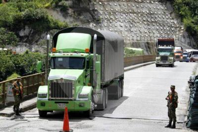 Cierran vía entre Medellín y Costa Atlántica por emergencia en Hidroituango