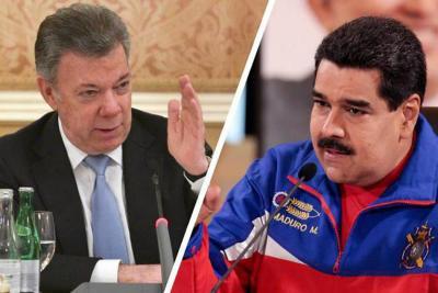 """Venezuela tilda de """"mentira"""" acusación de Santos sobre compra de votos a colombianos"""