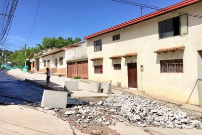 A los vecinos del Fátima, el agua les llegó a la sala