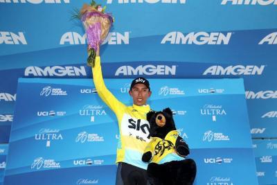 Golpe de autoridad de Egan Bernal en el Tour de California