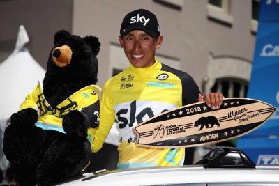 Bernal y Gaviria conquistaron el Tour de California