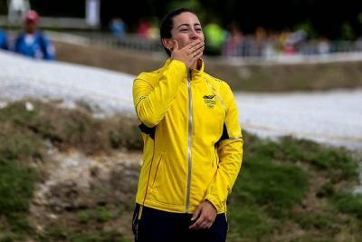Colombiana Mariana Pajón destacó que su cirugía fue exitosa
