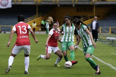 Atlético Nacional y Atlético Huila, final de la Liga Femenina