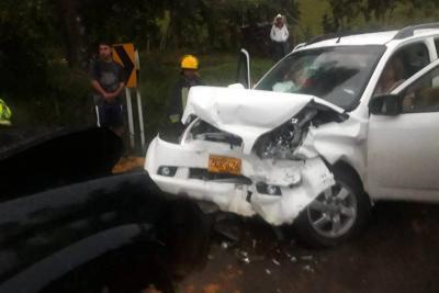 Un muerto y dos heridos tras accidente en vía de Santander