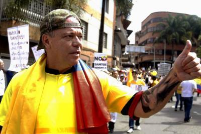 Denuncian a 'Popeye' por amenazas contra seguidores de Petro