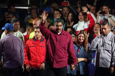 Venezuela protesta por sanciones de EE.UU. tras la reelección de Maduro