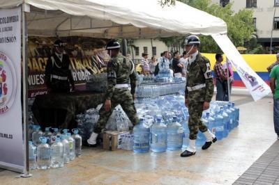 Al descubierto 'cartel de refrigerios' que estafaba a las Fuerzas Militares