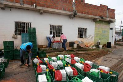 Alcaldía distribuyó las primeras huertas caseras