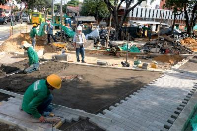 En 43% se elevó el costo de las obras en la Plaza Guarín