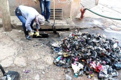 En dos meses se han realizado 160  jornadas de limpieza de sumideros