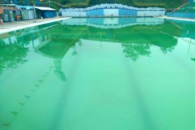 Así están las únicas piscinas olímpicas de Santander