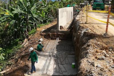 Avanza recuperación de 6.5 kilómetros  de vía que conecta a Girón y Zapatoca