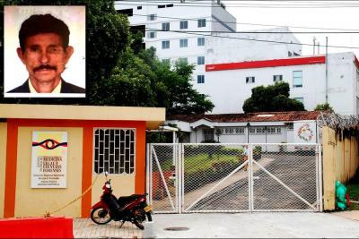 Buscan familia de hombre que murió en el Hospital