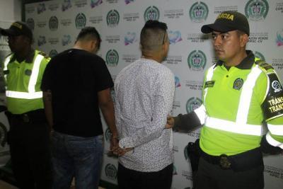 Detenidos cuatro traficantes de estupefacientes