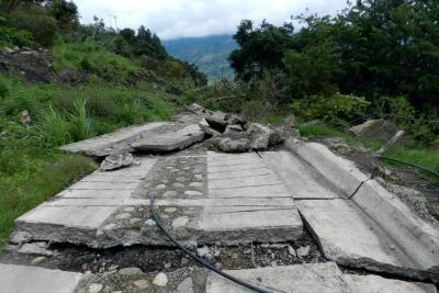 Familias y cultivos en Enciso, Santander, tendrán que ser reubicados
