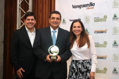 Anoche se realizó la gran gala del premio 'A La Vanguardia'