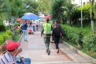 Autoridades iniciaron la recuperación del parque