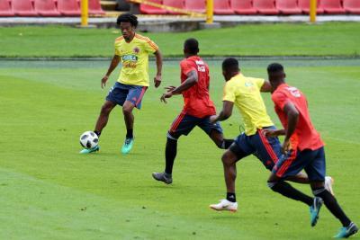 La selección Colombia tendrá hoy su despedida